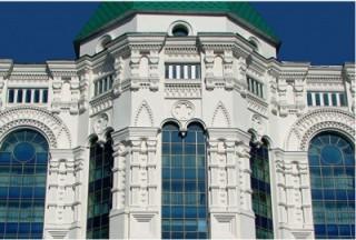 Монтаж декоративных элементов фасада